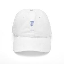 WINE GLASS Baseball Cap