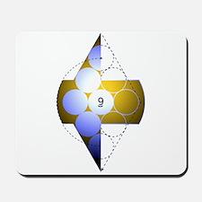 9 Ball 2 Mousepad