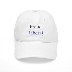 Baseball Cap - proud liberal