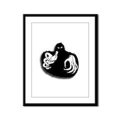 Ghoul Halloween Framed Panel Print