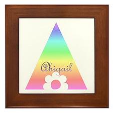 Abigail Framed Tile