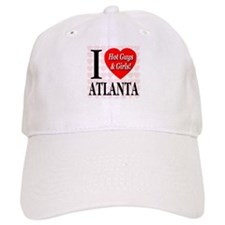 I Love Atlanta Hot Guys & Gir Baseball Cap
