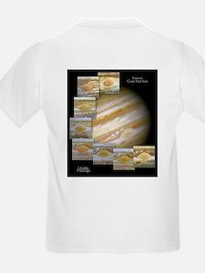 Jupiter's Great Red Spot Kids T-Shirt