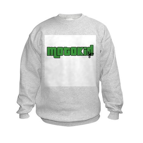 Boy MotoKid Kids Sweatshirt