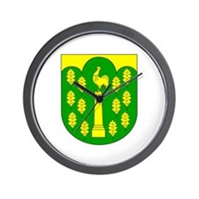 Hohner Harde Amt Wappen Wall Clock