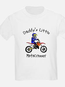 Daddy's Little MXer Boy Kids T-Shirt
