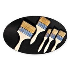 Paint brushes Decal