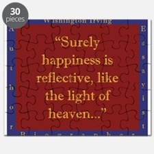 Surely Happiness Is Reflective - W Irving Puzzle
