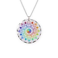 Rainbow Spiral Necklace