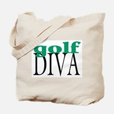 Golf Diva Tote Bag