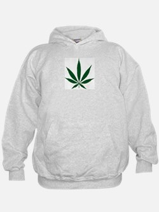 Marijuana Leaf Green Hoodie