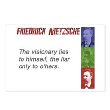 Visionary Liar: Postcards (Package of 8)
