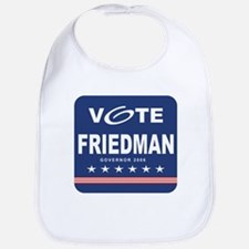 Vote Kinky Friedman Bib