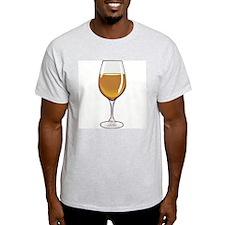 WINE Ash Grey T-Shirt