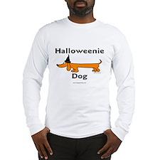 Halloweenie Dog Long Sleeve T-Shirt