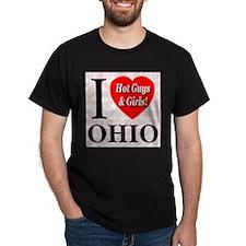 I Love Ohio Hot Guys & Girls T-Shirt