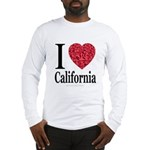 I Love California Long Sleeve T-Shirt