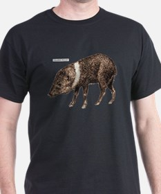 Collared Peccary Animal T-Shirt