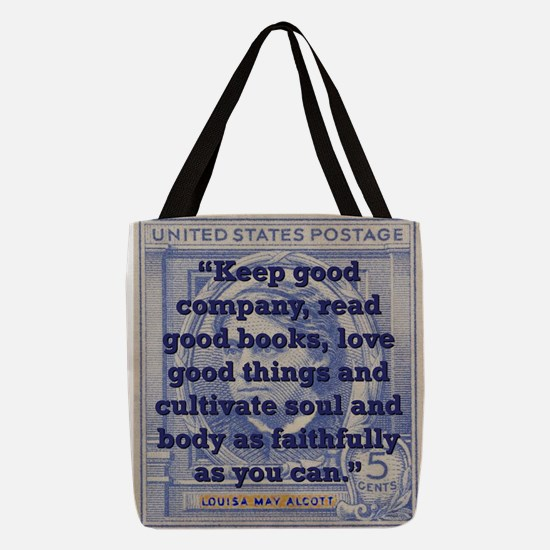Keep Good Company - Alcott Polyester Tote Bag