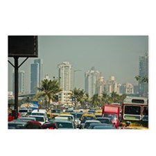Traffic, Mumbai, India Postcards (Package of 8)