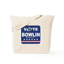 Vote Bill Bowlin Tote Bag