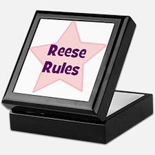 Reese Rules Keepsake Box