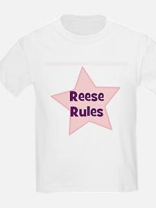Reese Rules Kids T-Shirt