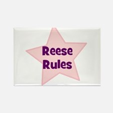 Reese Rules Rectangle Magnet