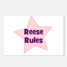 Reese Rules Postcards (Package of 8)