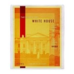 Taking Back The White House Throw Blanket