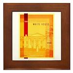 Taking Back The White House Framed Tile
