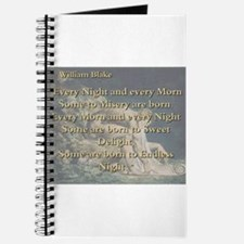 Every Night And Every Morn - W Blake Journal