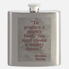 To Produce A Mighty Book - Melville Flask