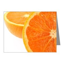Two halves of an orange, par Note Cards (Pk of 10)