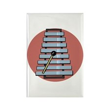 Glockenspiel/Xylephone Rectangle Magnet