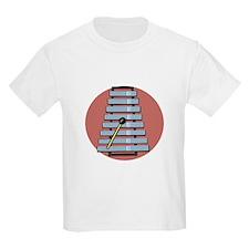 Glockenspiel/Xylephone Kids T-Shirt