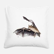 Bat Animal Square Canvas Pillow
