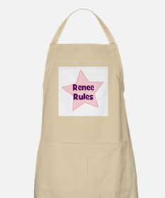 Renee Rules BBQ Apron