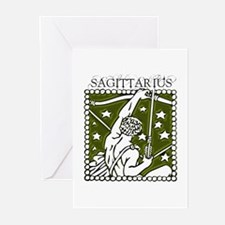 Sagittarius the Archer Greeting Cards (Package of