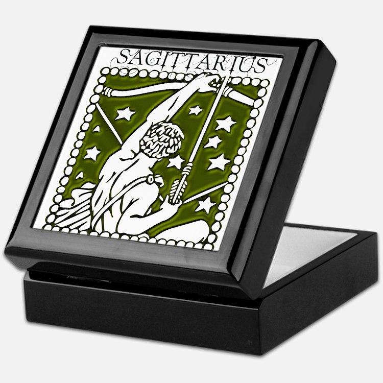 Sagittarius the Archer Keepsake Box