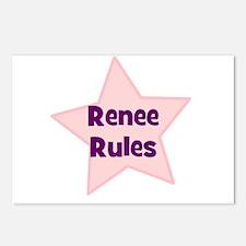 Renee Rules Postcards (Package of 8)