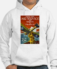 Air Service WWI Poster Hoodie
