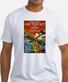 Air Service WWI Poster Shirt