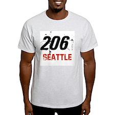 206 Ash Grey T-Shirt