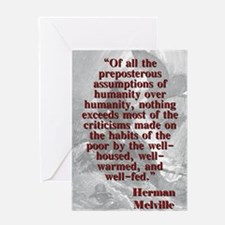 Of All The Preposterous Assumptions - Melville Gre