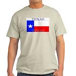 Texas Texan State Flag Ash Grey T-Shirt