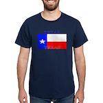 Texas Texan State Flag Navy Blue T-Shirt
