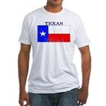 Texas Texan State Flag Fitted T-Shirt