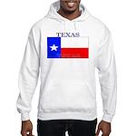 Texas Texan State Flag Hooded Sweatshirt
