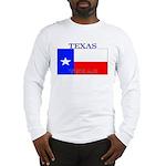 Texas Texan State Flag Long Sleeve T-Shirt